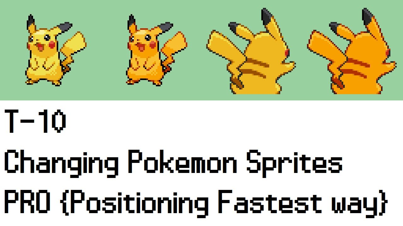Tutorial] sprite editing and inserting for fire red client.