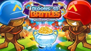 BLOONS TD BATTLE NEW TOURNAMENT MODE!?!?! | Bloons TD Battles