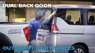 All-New Nissan Serena - Dual Back Door