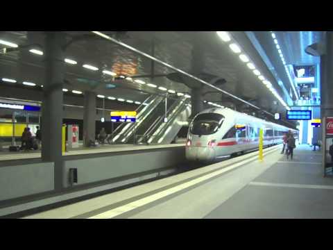 All kinds of Passenger Trains in Berlin, Germany