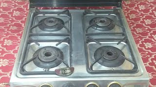 Sunflame 4 Gas Burner Stainless Steel : Specification and Quick Review (Hindi) (Live Video)