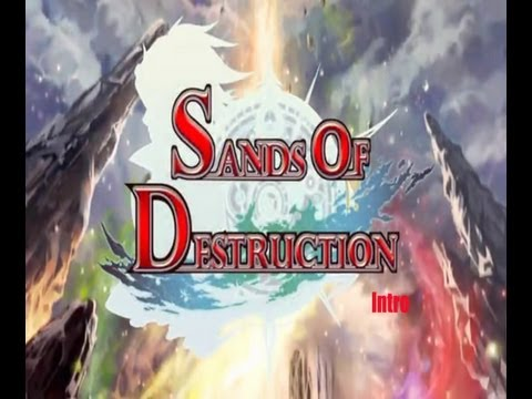 sands of destruction anime