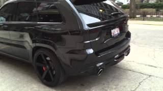 2013 JEEP GRAND CHEROKEE SRT8 w/ 22