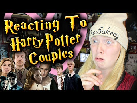 REACTING TO HARRY POTTER COUPLES/SHIPS