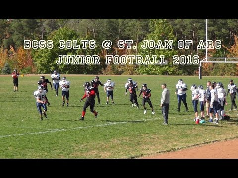 BCSS COLTS @ St. Joan of Arc (Barrie) | Junior Football 2016