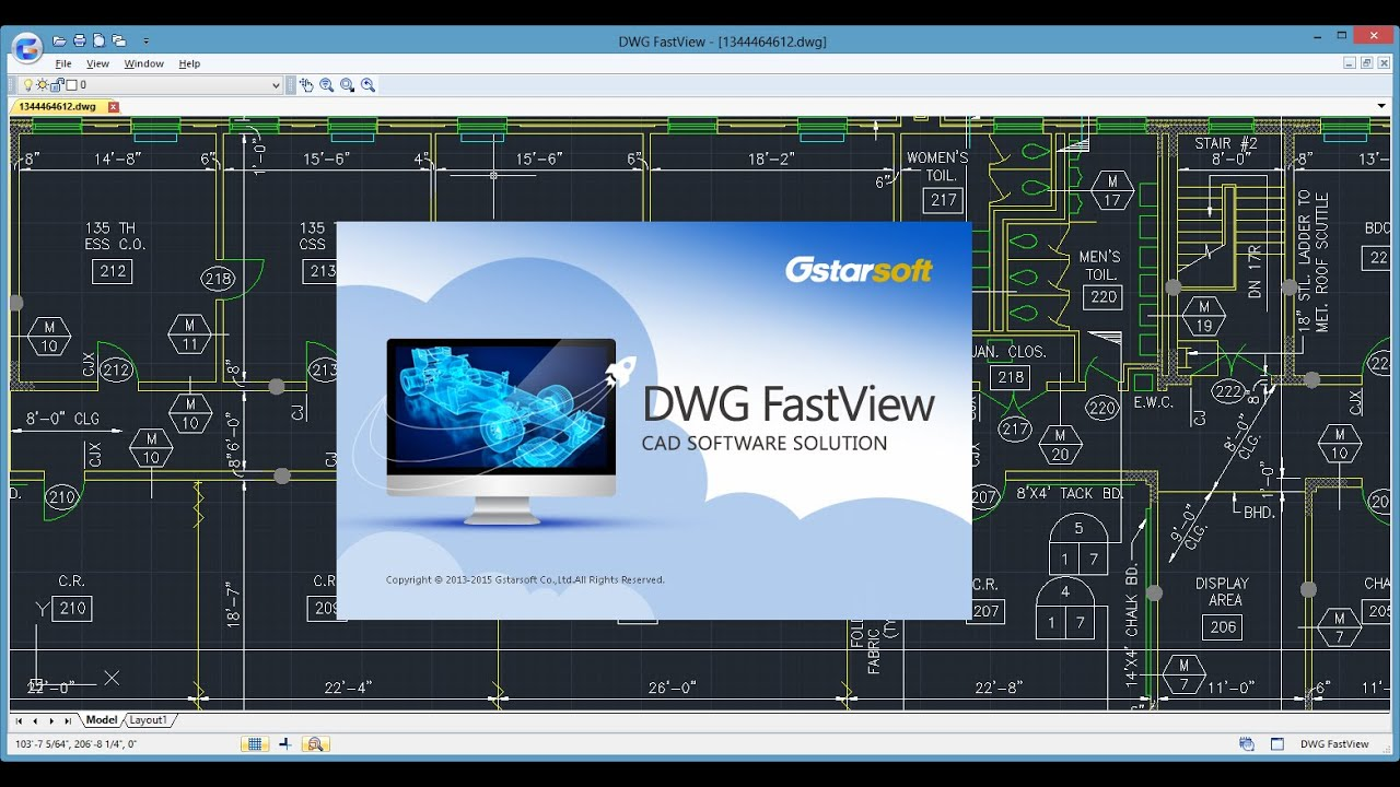 Cad Viewer - Dwg Fastview