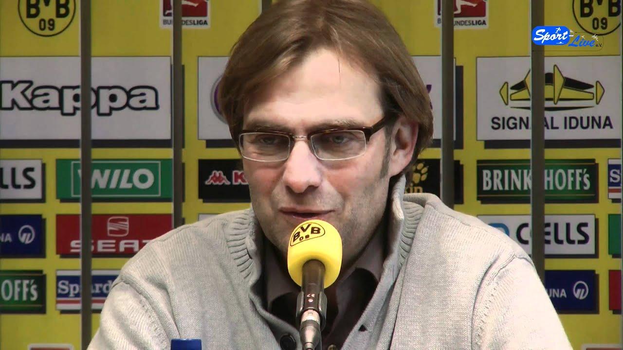 Pressekonferenz Borussia Dortmund zum Pokalspiel gegen Fortuna Düsseldorf (Teil 1)