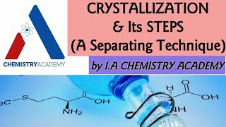Crystallization and Its Steps |Separation Techniques| Purification of a Sample