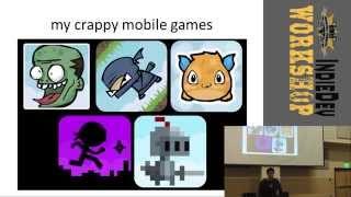 Sean Young - Creator of Magicite IndieDev Workshop Presentation