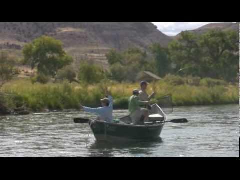 Drift Boat Fly Fishing Lower Gunnison