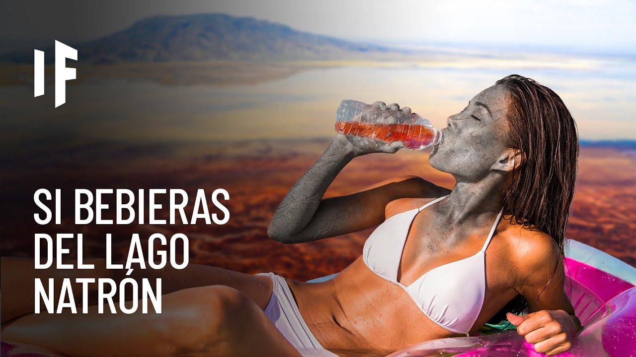 ¿Qué pasaría si bebieras de las aguas del lago Natrón?