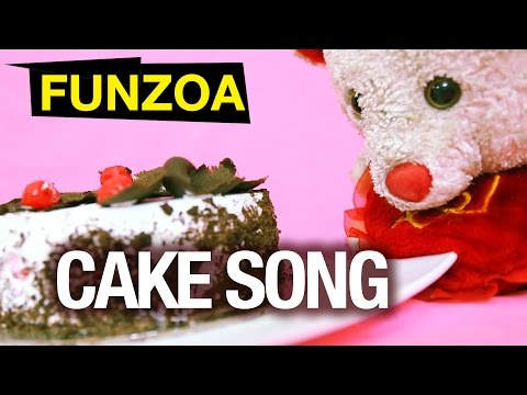 Funny Cake Song - Funzoa Mimi Teddy | Awesome Delicious Cake Song | Viral Cake Song