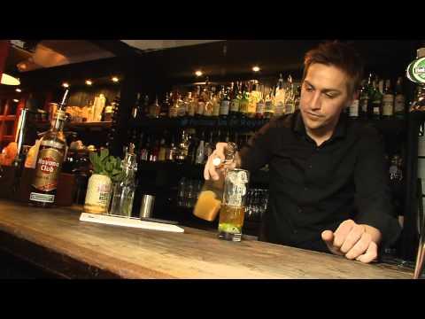 Mixing A Rosemary Rum Mule - Trend Set (Lockhart Catering Equipment)