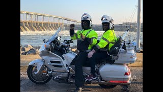 Riding to Pickwick Dam continued