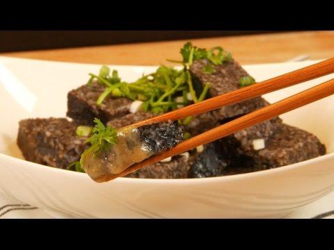 豬血糕& 米醬| 料理123