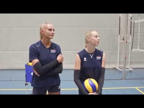 De zomer van volleybaltalent Indy Baijens