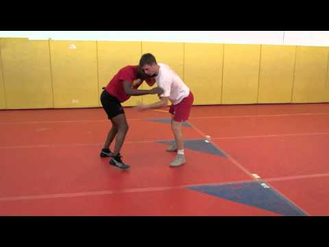 Chris Prickett Technique Session: Underhook - Kneetap to Double Leg Finish