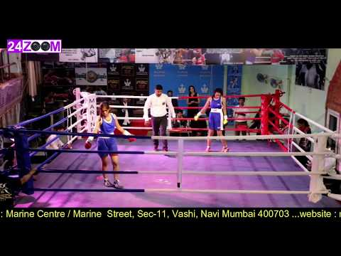 Marine Centre Pro Boxing / Upgradation Bout / Smriti Vanwari vs Mrunali