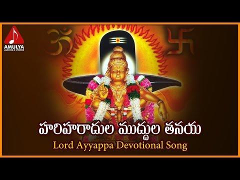 Hari Haradula Muddula Tanaya Devotional Song |  Popular Ayyappa Telugu Devotional Songs