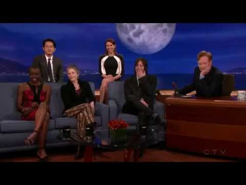 The Walking Dead Cast on Conan [FULL INTERVIEW] HD