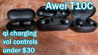 AWEI T10C True Wireless Bluetooth Headphones, Initial Impressions, Incredible Value At UNDER $25