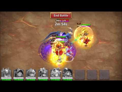 Castle Clash: HUGE Damage Debuff STUN Demon SCHOOLING Pocay :(