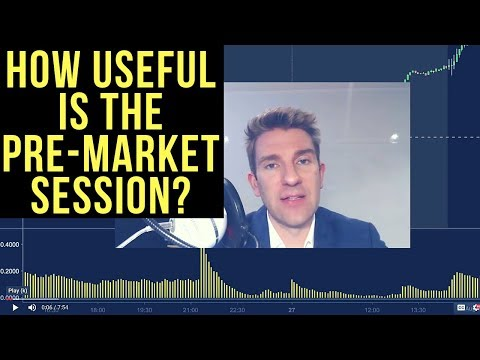 Is The Pre-Market Session Useful? Pre-Market Stock Movers 💡