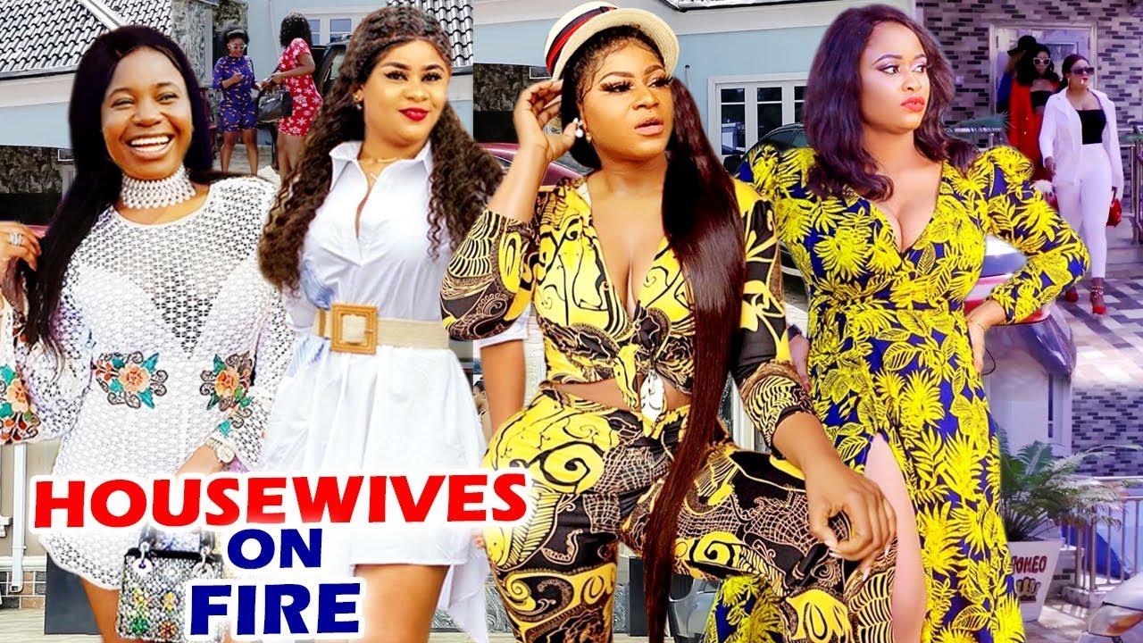 Download Housewives On Fire Complete Season - Destiny Etiko / Uju Okoli 2020 Latest Nigerian Movie