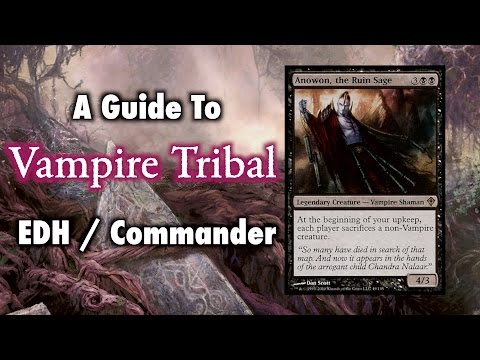 MTG - A Guide To Vampire Tribal EDH / Commander for Magic: The Gathering