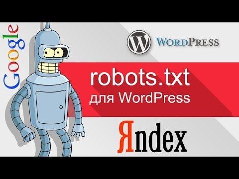 Уроки WordPress - правильный файл robots.txt WordPress для Яндекса и Google