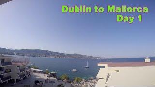 DUBLIN TO MALLORCA DAY 1 !!