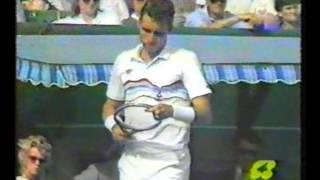 1987 Australian Open Semifinal - Cash Vs Lendl