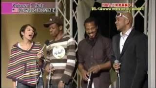 Black people in Japan ( singing on TV)