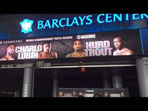 (LIVE) LARA VS GAUSHA * CHARLO VS LUBIN * HURD VS TROUT PRESS CONFERENCE