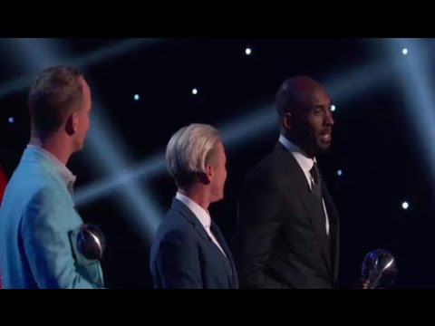 Kobe Bryant, Peyton Manning and Abby Wambach Win Icon Awards at ESPYS 2016