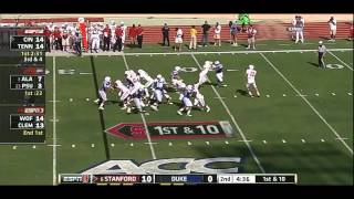 Chris Owusu vs Duke 2011