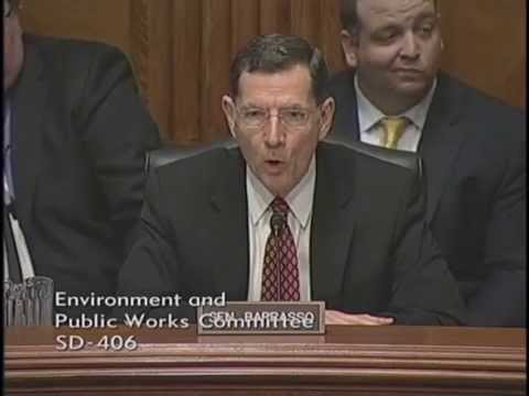 Senate EPW Committee Passes Barrasso's Bipartisan Bill to Protect Navigable Waters in the US