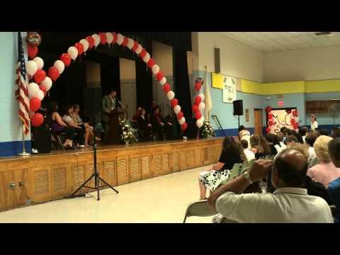6/23/2011 - North Cumberland Middle School graduation, Cumberland, RI *6 of 7*