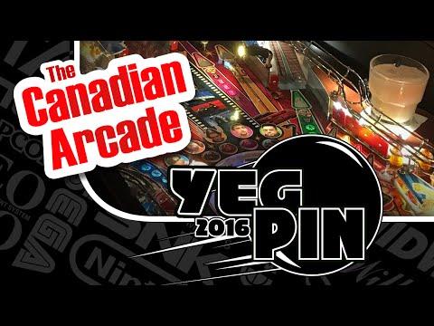 2016 YEGPIN Edmonton Pinball and Arcade Expo
