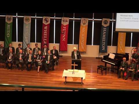 Headmasters' Induction - Mr Paul Brown