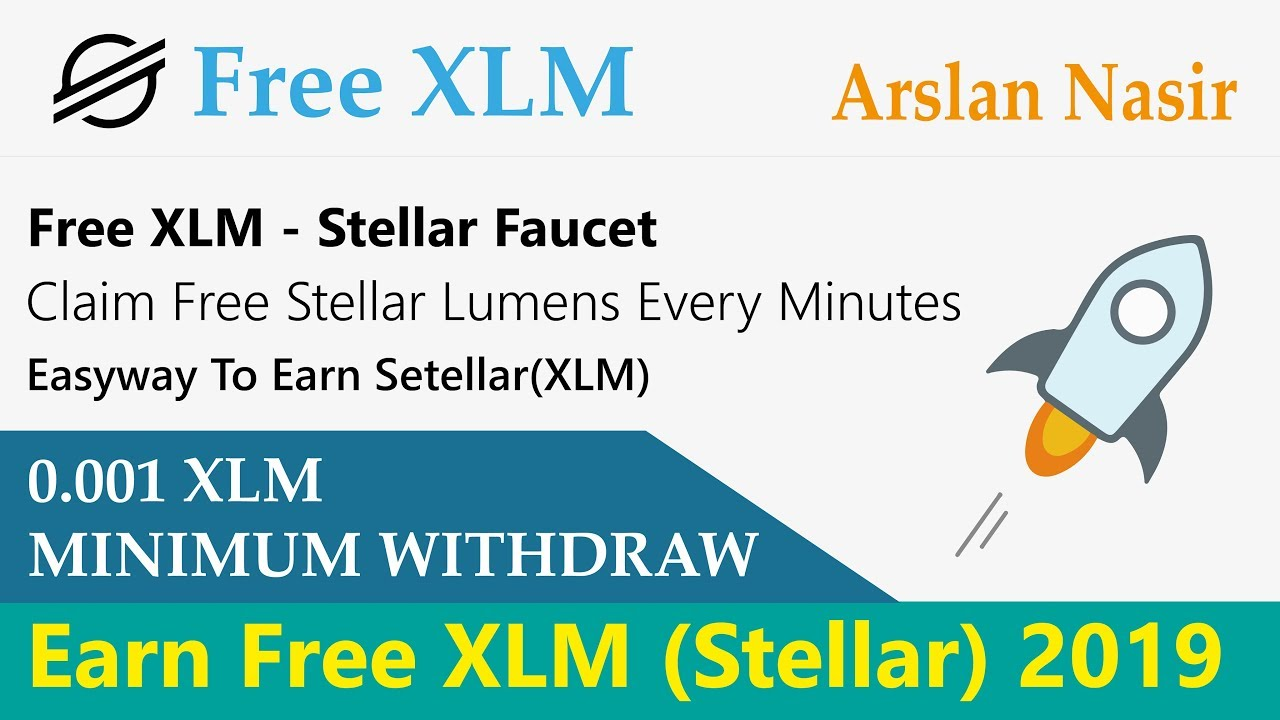 Free XLM | Claim Free Stellar(XLM) Every Minute | Earn Free Stellar Live 2019 in Urdu Hindi 16
