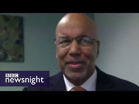 Deputy PM of Bermuda Bob Richards - BBC Newsnight