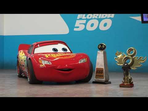 Cars 3 Blu ray:DVD Bonus Feature Miss Fritters Racing Skoool 1