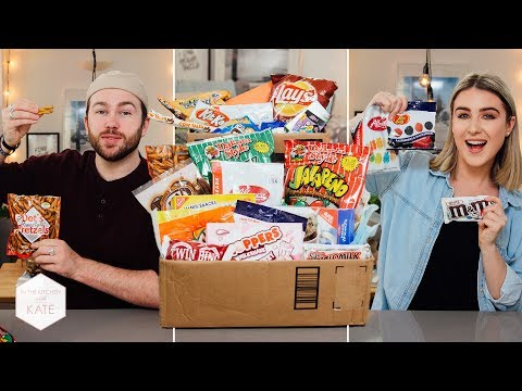 Trying American Candy: South Dakota vs Philadelphia - In The Kitchen With Kate