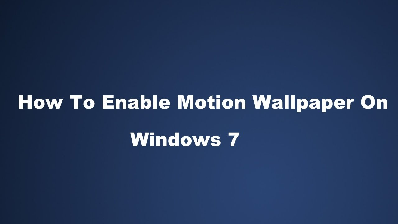 how to enable windows search in windiws 7