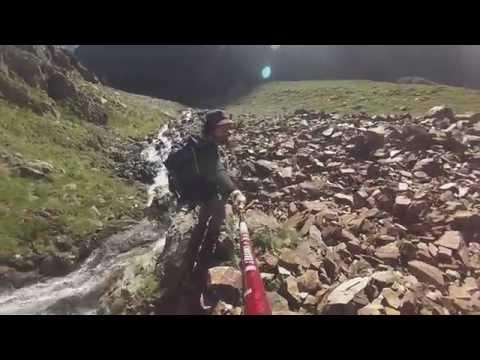 Pic du Montcalm et Pic d'Estat (02.08.16) [GoPro] (tracé GPS)