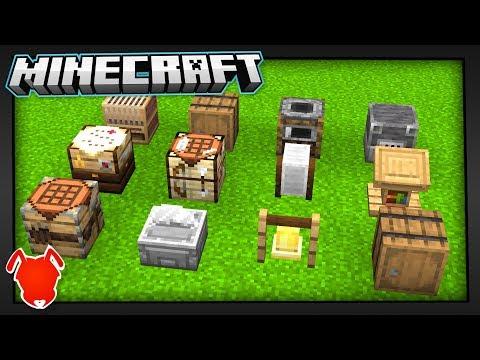 Minecraft 1.14's Secret... The Crafting Update?!