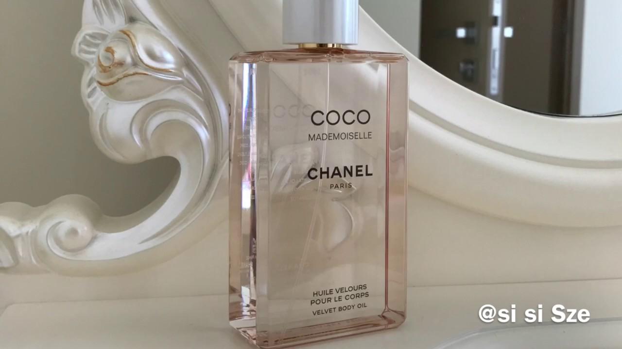 5536ed3fedaa5 Chanel COCO Mademoiselle Velvet Body Oil - YouTube