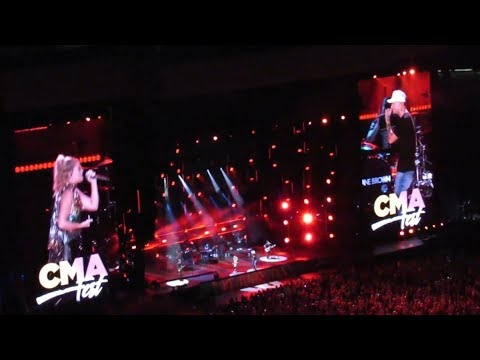 Kane Brown - What If ft. Lauren Alaina (CMA Fest 2018 Day 1)