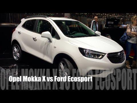 opel mokka vs ford ecosport